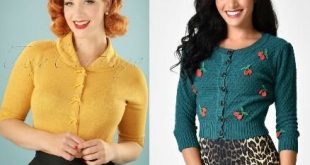 Vintage Sweaters: Cable Knit, Fair Isle Cardigans & Sweaters