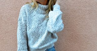COZY SWEATERS UNDER $30 - Jaclyn De Leon Style + casual fall outfit + fuzzy swe...