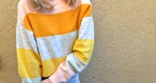 TRENDING- BOLD STRIPES - Jaclyn De Leon Style + H&M striped sweater + Stella & D...