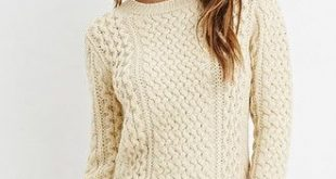 Chunky Fisherman Sweater | Forever 21 - $28 - size M - the cream color