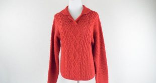 FREE usa SHIPPING Vintage ladies knit sweater/ hipster/ minimalist/ wool acrylic/Beverly Hills Polo Club/ vintage sweater/ size L