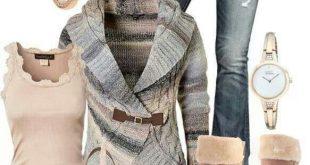 Gucci Tote & Multi-Colored Sweater Jacket