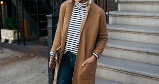 I have a Stella McCartney coat similar to this one. I love the mules and striped...