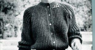 Stil #703: Muster für 1 Strickjacke Pullover stricken, entnommen aus der Bro...