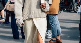 20 Chic Looks mit übergroßen Pullover