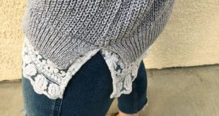 Anthropologie Light Gray Knit Oversized Sweater S Pins & Needles by Anthropologi...