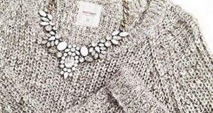 """Auffällige Halskette """"Schneewittchen"""" – #fashion #fashionstyle #fashionista #style #styl"""
