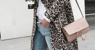 Frauen - Feline Leopard Strickjacke