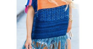 Free People Sunset Fringe Sweater Free People Sunset Fringe Sweater Size M/L Ex...
