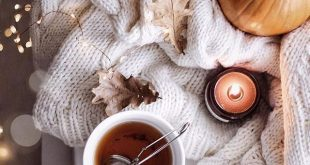 25 Cozy Autumn inspiration - A stylish and cozy home #autumn #fall cozy at home ...