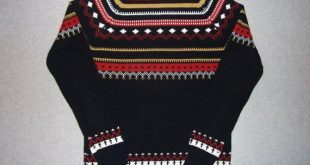 70s 80s Nordic Ski Skiing Hipster Aztec Vintage Sweater Tacky Gaudy Ugly Christmas Party X-Mas 1970s 1980s K-Mart L Large