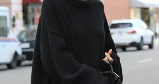 KENDALL JENNER LOVE: Dieses komplett schwarze Outfit ist Leben! Serious Outfit I...