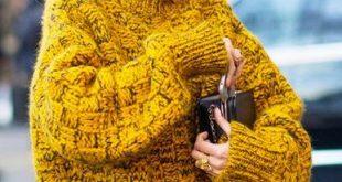 Suéter de punto: los chunky knits triunfarán este invierno