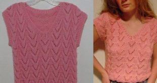 Vintage 70s pink knit top vest crop sweater hipster boho mod pink handmade crop peekaboo sweater vest top shirt