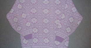 Vintage 80s 90s Lavender Nordic Ski Snow Bunny Sweater Hipster 1980s Tacky Gaudy...