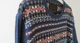 Vintage Clothes. Retro 1980 Jumper. Quality Retro Sweater. Dark Blue Patterned and cable Knit Retro Sweater. Hipster. Preppy 1980 Jumper