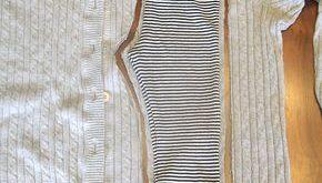 süße & bequeme Leggings aus einem Pullover #bequeme #einem #leggings #pullove...