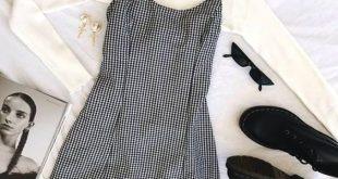 turtleneck-white-sweater-plaid-mini-dress-cozy-valentines-day-outfits-min
